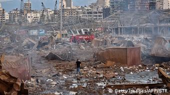 Εικόνες ολικής καταστροφής στη Βηρυτό