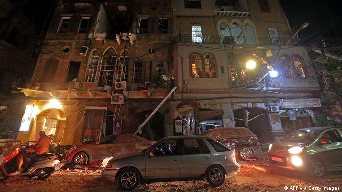 Libanon   Gewaltige Explosion in Beirut (AFP via Getty Images)