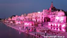 BdTD Indien | IlluminierteTempel in Ayodhya