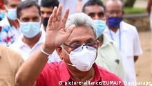 Sri Lanka | Parlamentswahl: Gotabaya Rajapaksa verlässt Wahllokal