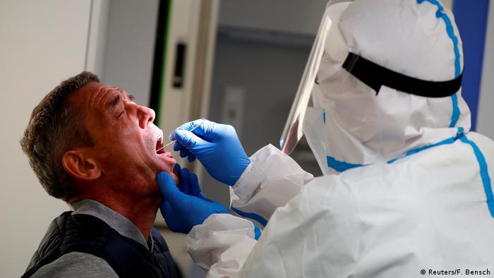 Deutschland Coronavirus - Covid-19 Test in Berlin