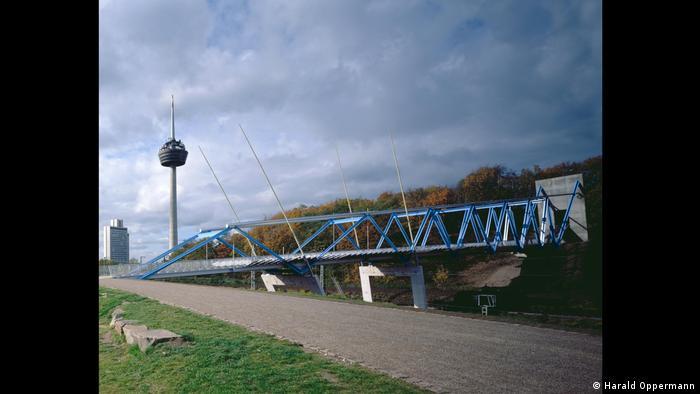 Pedestrian bridge in Cologne