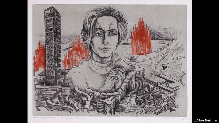 История архитектора Ирис Дуллин-Грунд рассказывается на выставке
