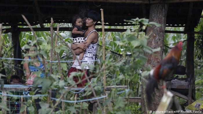 Philippinen Corona-Pandemie | Kobe Christ Manjares | Vater Ronnel Manjares
