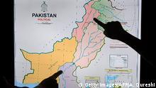 Pakistan Veröffentlichung einer neuen politischen Karte