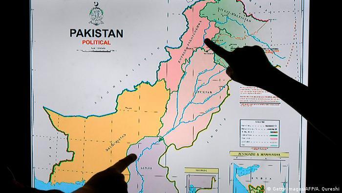 Pakistan Veröffentlichung einer neuen politischen Karte (Getty Images/AFP/A. Qureshi)