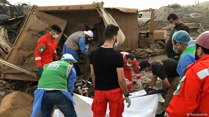 4 Ağustos'ta meydana gelen patlamada en az 165 kişi hayatını kaybetti