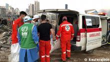 Libanon | Beirut | Gewaltige Explosion am Hafen