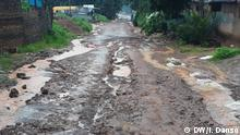 05-08-2020 Roads from the capital of Guinea-Bissau in poor condition, especially during the rainy season.