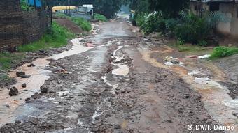 Guinea-Bissau | Straßen während der Regensaison