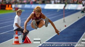 Long jumper Alexandra Wester