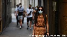 Spanien | Coronavirus - Maskenpflicht im Freien