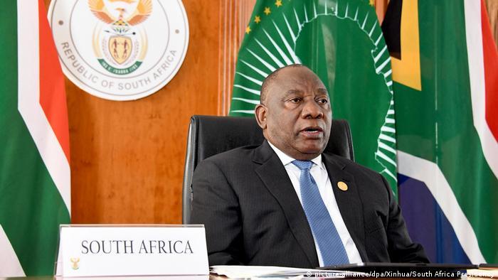 Südafrika Präsident Ramaphosa
