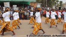 Burkina Faso Ouagadougou Unabhängigkeitsfeier