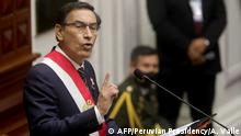 Peru | Präsident Martín Vizcarra