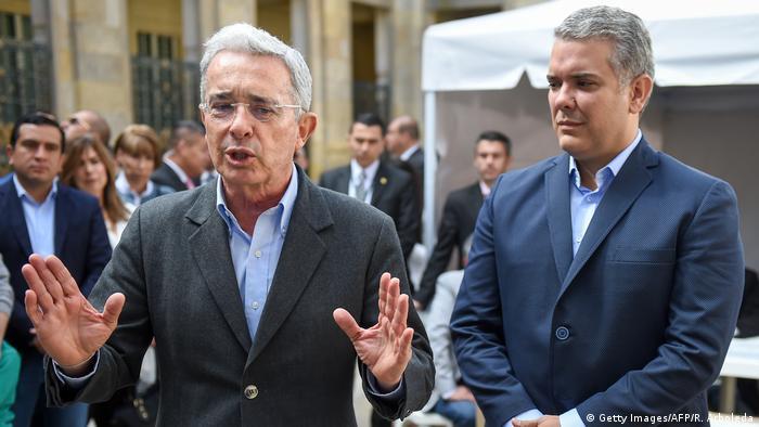 Álvaro Uribe, mentor de Iván Duque