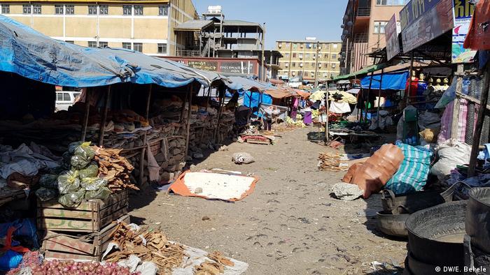 Äthiopien Traditioneller Markt in Debre Birhan