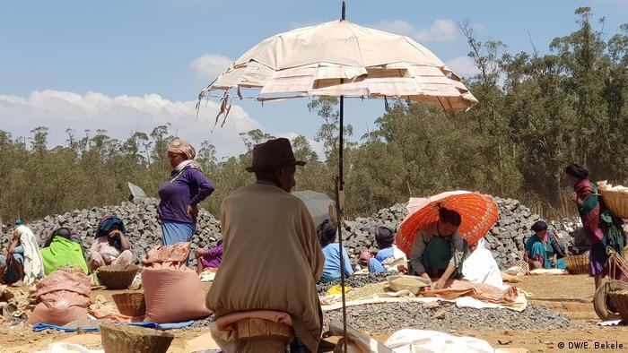 Äthiopien   Traditioneller Markt in Debre Markos