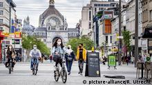 Belgien | Antwerpen | Coronavirus | Maskenpflicht