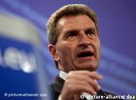 Comissário da UE Günther Oettinger quer reunião extraordinária sobre segurança de centrais nucleares