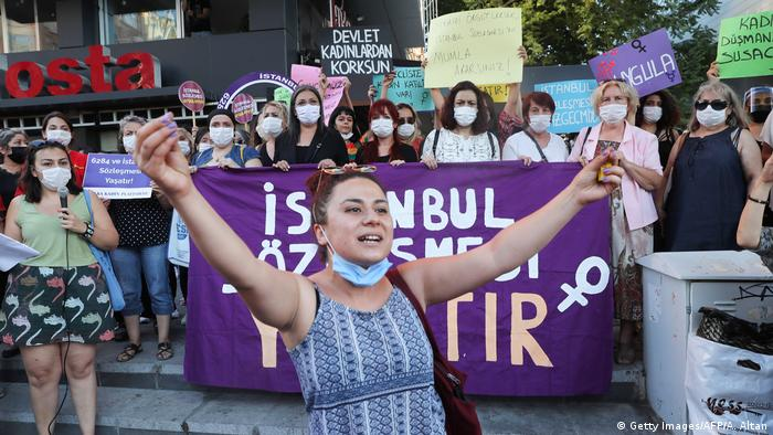 Türkei I Istanbul I Protest für Frauenrechte