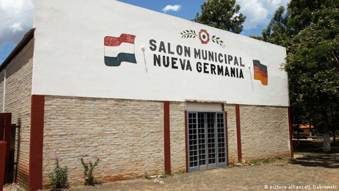 A museum at the former settlement Nueva Germannia (picture-alliance/J. Dabrowski)