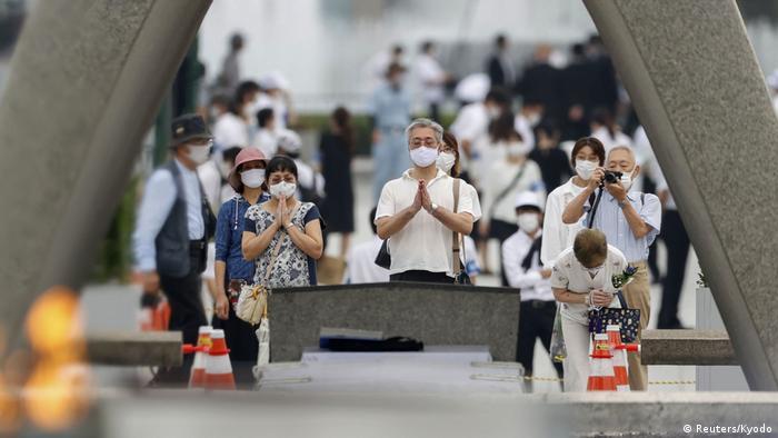 Japan I Zeremonie zum Jahrestag in Hiroshima (Reuters/Kyodo)