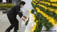 Japan I Zeremonie zum Jahrestag in Hiroshima