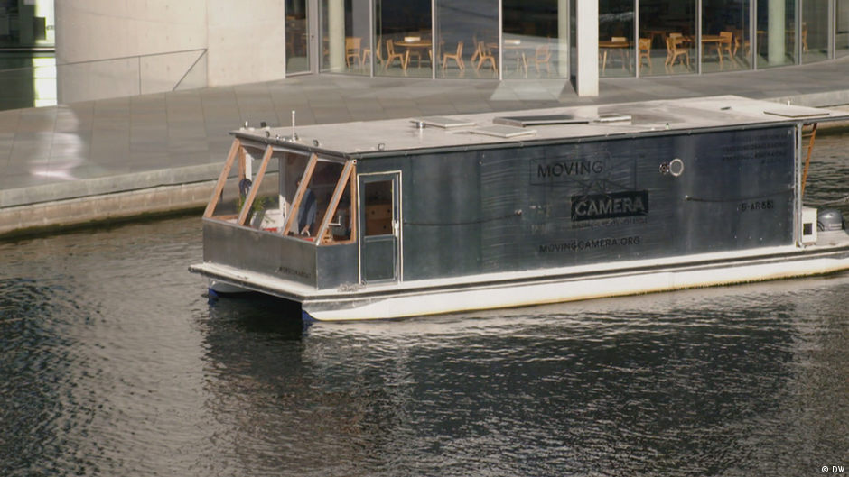 A floating Camera Obscura in Berlin
