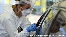 Belgien Coronavirus Testzentrum Antwerpen
