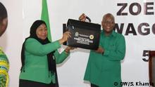 Tansania Dodoma | Wahlkampf | CCM Partei