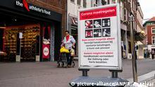Eine Einkaufsstraße im Zentrum von Venlo