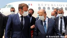 Libanon Macron in Beirut