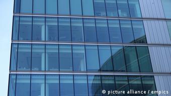 Coronavirus   London leeres Bürogebäude