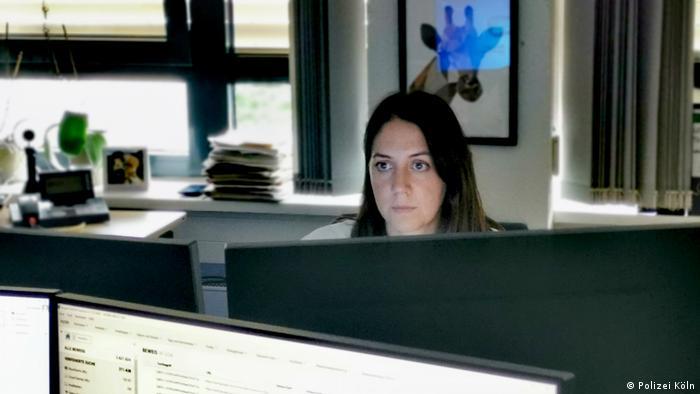 Лиза Вагнер, сотрудник спецподразделения Berg
