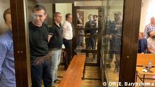 Russland Moskau | Angeklagte im Prozess | Nowoje Welitschije