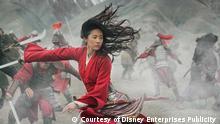 Walt Disney | Schauspielerin Liu Yifei im Film Mulan