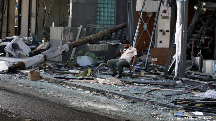 Lebanon: Explosion in Beirut