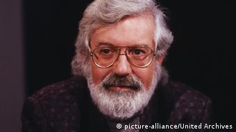 Porträt des Schriftstellers Michael Ende um 1989 (Bild: picture-alliance/United Archives)