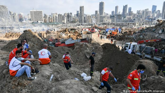 Libanon I Explosion in Beirut
