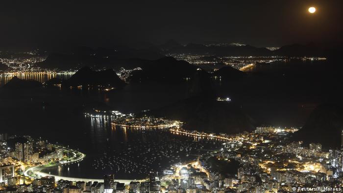 BdTD I Brasilien I Mondaufgang in Rio de Janeiro