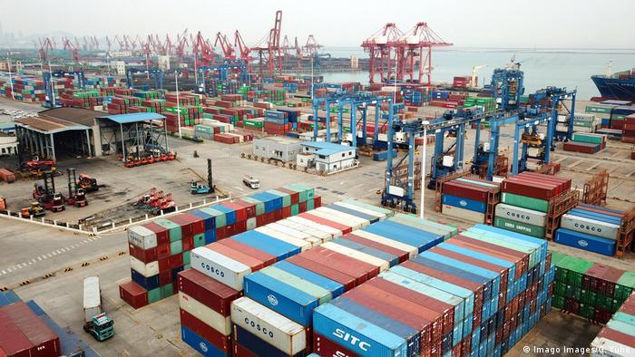 China Lianyungang   Wirtschaft   Handelshafen