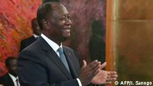 Elfenbeinküste Präsident Alassane Ouattara
