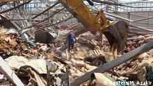 Libanon Beirut | nach Explosion im Hafenviertel
