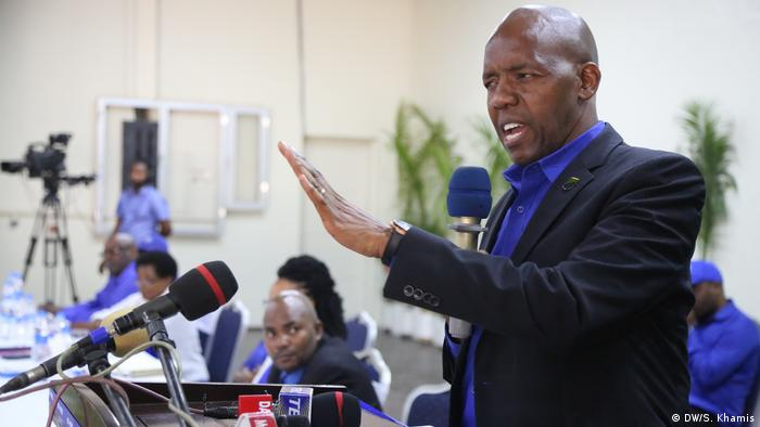 Tansania | Wahlen 2020 | James Mbatia (DW/S. Khamis)