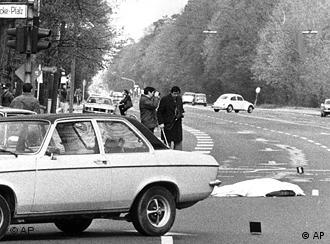 The scene of the 1977 murders