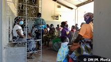 Mosambik Quelimane | Coronavirus | Gesundheitszentrum