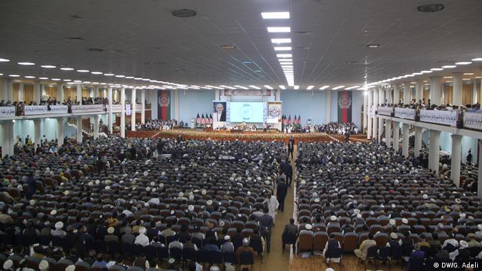 Afghanistan Loya Jirga in Kabul (DW/G. Adeli)