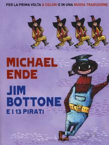 Buchcover Michel Ende | Italienisch | Jim Knopf und Lukas der Lokomotivführer