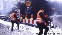 Deutschland Smogalarm 1985 im Ruhrgebiet